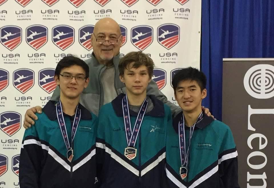 Cadet Men S Foil Team Wins Silver Medal At Milwaukee Nac