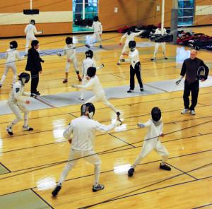 Open Fencing Rain City Fencing Center