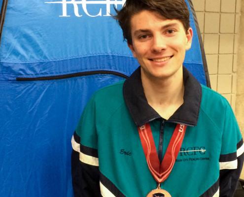 Eric DV3ME medal