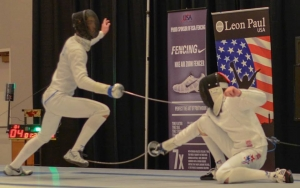 Epee fencers