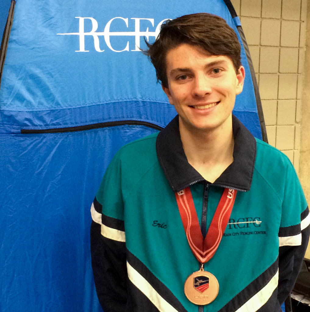 Eric Zobel Bronze Medal Div Iii Men S Epee Rain City