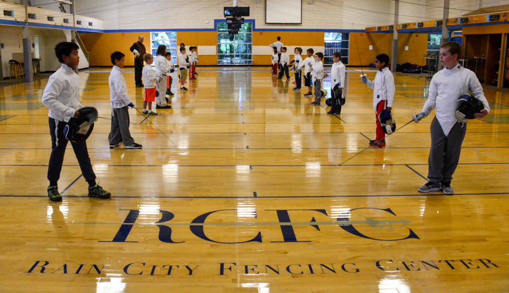 Fencing At Rcfc Rain City Fencing Center